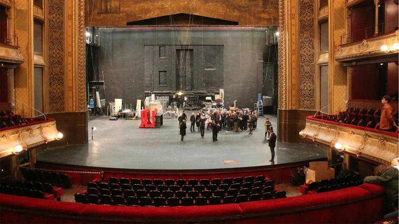 Visite du théâtre du Châtelet