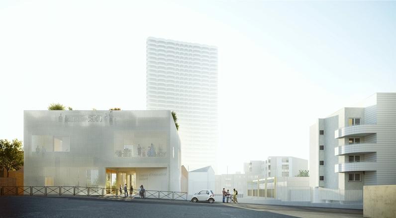 Image de projet du futur centre d'animation Hébert
