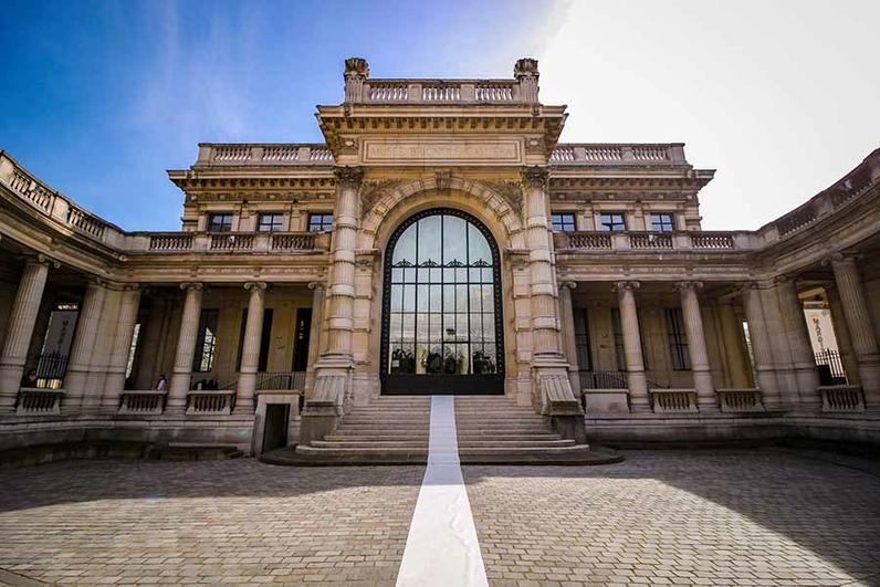 Entrée du musée - cour d'honneur