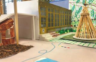 Maquette du projet de l'école maternelle Dussoubs