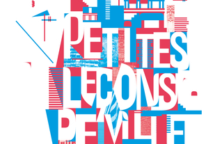 Affiche des Petites Leçons de Ville 2013