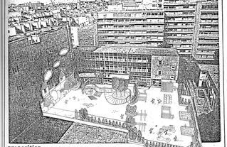 Proposition d'aménagement pour la cours d'école Bullourde
