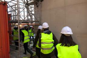 Visite du chantier du conservatoire Vandal