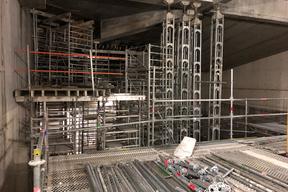Visite du chantier du conservatoire Vandal - l'auditorium